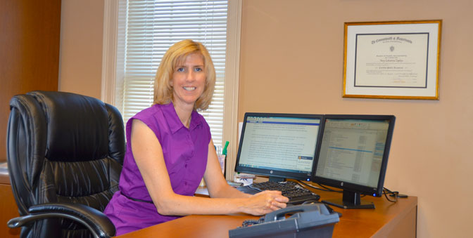 Catherine Lapsley is a CPA for Condon and Lapsley in Plymouth MA